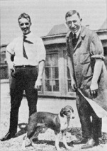 Dr. Charles Best and Sir Frederick Banting